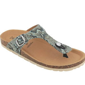 BIOTIME Brooke Aqua Snake National Shoe